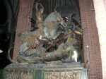St. George the dragon by the Lubeck master Bernt Notke