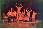 "Bill Cahn conducting ""Maestroke"". We dont do this any more."