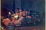 1973 Nexus set-up, Burton Auditorium, York University