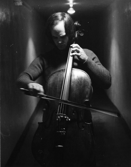 cellist David Darling-a frequent guest