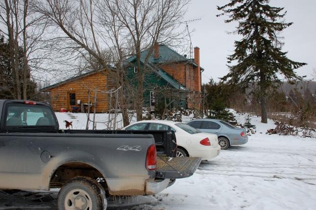 Eigensinn Farm in winter