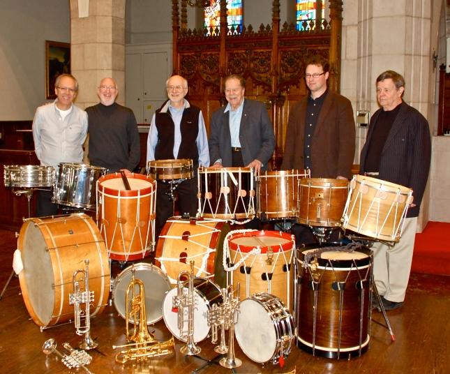Chuck Daellenbach, Bob Becker, Russell Hartenberger, Howard Cable, Ryan Scott & Robin Engelman.
