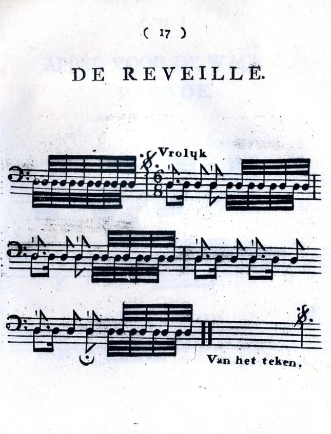 1809-De Reveille, Over Het Tromslaan, Amsterdam.