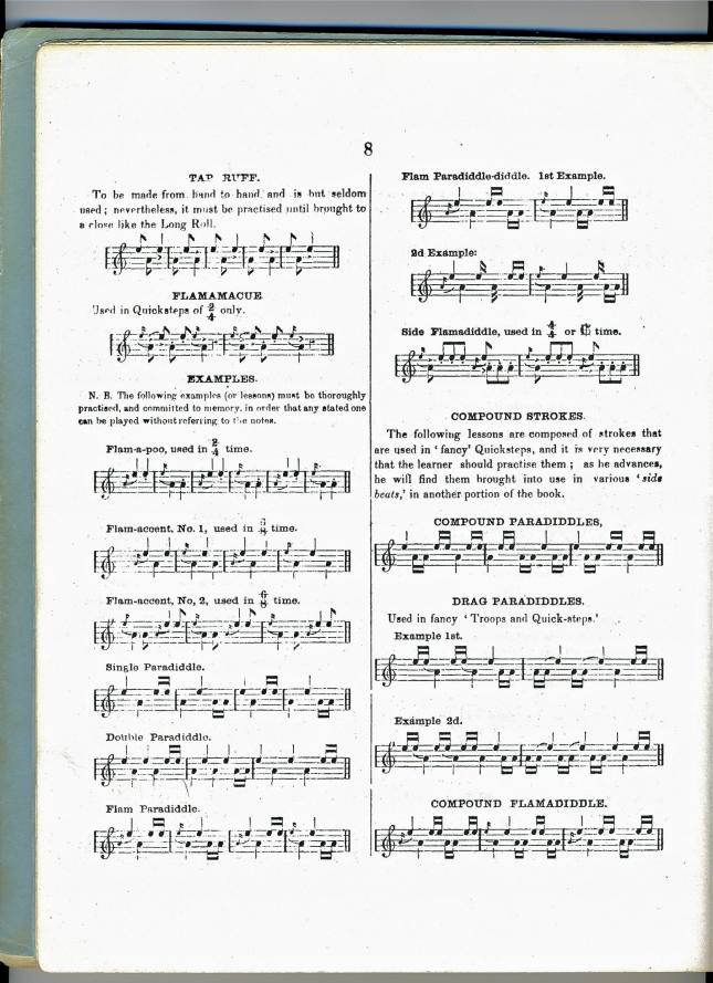 1862-Geo. Bruce & Dan. Emmett, Drummer's & Fifer's Guide, New Yor
