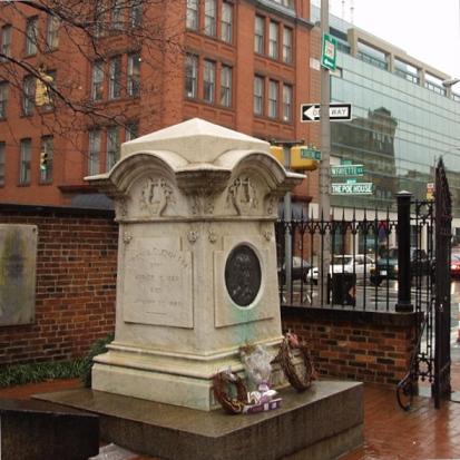 E. A. Poe grave, Baltimore, MD.