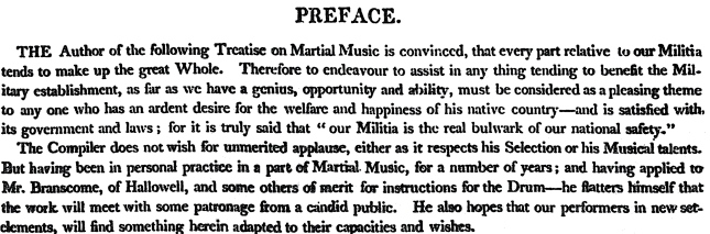 1812-Excerpt from Preface by Robbins.