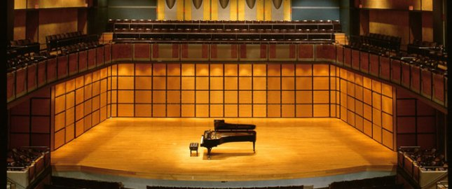 George Westin Recital Hall.