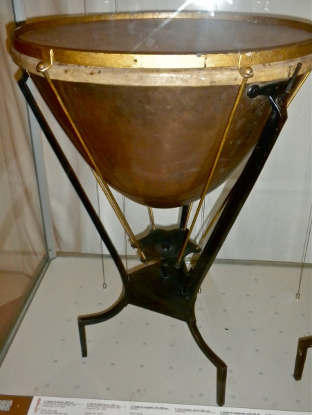 Kettledrum, Galleria dell'Accademia, Florence, Italy.