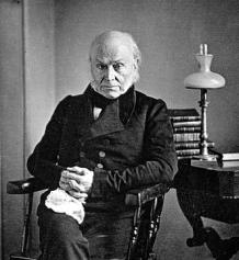 John Quincy Adams, 1843 Daguerreotype
