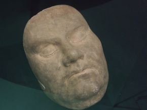 Death Mask of Martin Luther. (1483-1546)