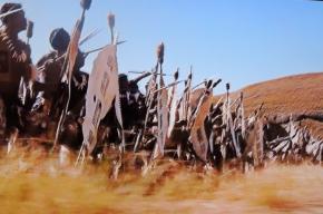 Zulu stabbing spear