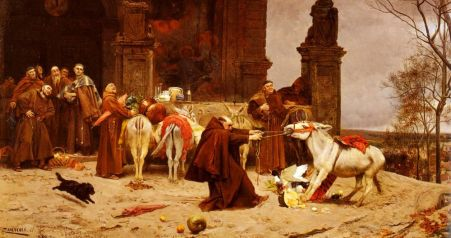 Taming the Donkry by Eduarso Zamacois  y Zabala, 1868