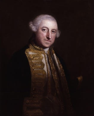 Edward Boscawen by Sir Joshua Reynolds, c. 1755.