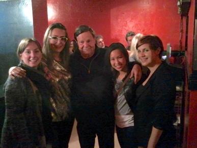 Tricia Mangat, Maya Postepski, Robin, Mandy Lau, Laura Chambers. Phoenix Concert Theatre, Toronto, 27 September, 2013.