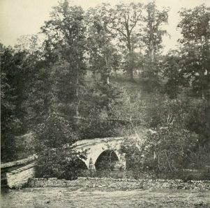 Burnside's Bridge immediately after the Battle.