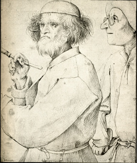 Pieter Bruegel, the elder,1520-69, pen drawing.