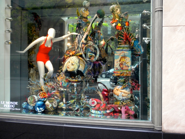 Window display, Madison Ave.