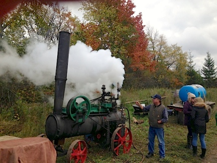 1872 Steam Engine. Photo R.E.