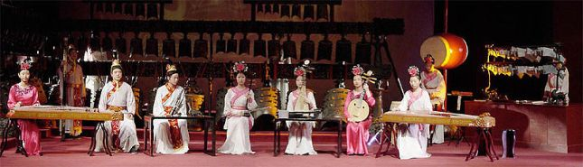 Ensemble and Instruments in Suzhou.